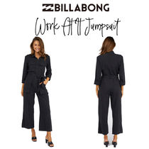 【Billabong】Work At It Jumpsuit  7分袖のジャンプスーツ♪