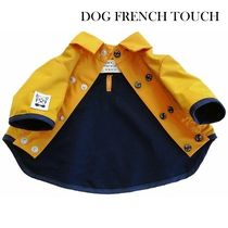 ★DOG FRENCH TOUCH★仏製 イエローレインコート 小型犬