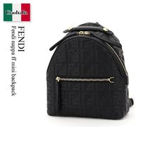 Fendi nappa ff mini backpack