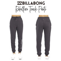 【Billabong】Rebellion Track Pants ロゴ入り スウェット