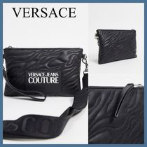 Versace Jeans Couture*キルティングディテールポーチ*送料込