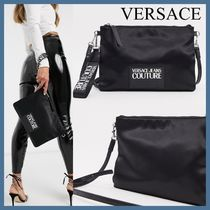 Versace Jeans Couture*ロゴ入 ナイロンクロスボディ*関税送料込
