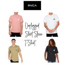 【RVCA】Unplugged Short Sleeve T-Shirt  半袖 ロゴTシャツ