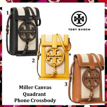 新作セール Tory Burch Miller Canvas Quadrant Phone Crossbody