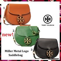 セール 新作 Tory Burch Miller Metal Logo Saddlebag