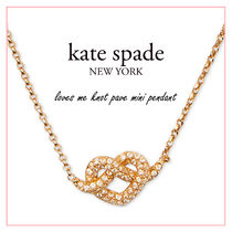 【国内発送】loves me knot pave mini pendant セール