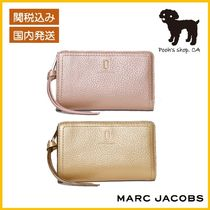 【MARC JACOBS】THE SOFTSHOT PEARLIZED 折財布◆国内発送◆