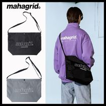 韓国ブランド★MAHAGRID★LOGO MINIMAL SHOULDER BAG/2色
