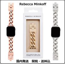 【Rebecca Minkoff】Chain Link Bracelet Apple Watch Strap