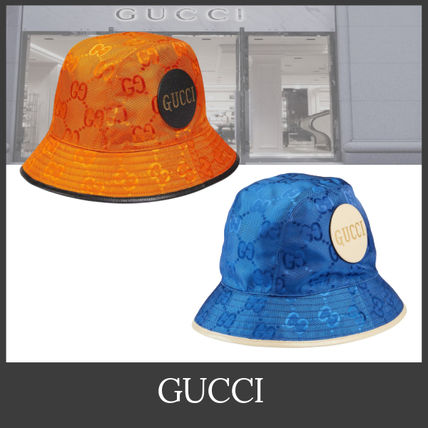 GUCCI ハット 【GUCCI】Gucci Off The Grid フェドラハット バケットハット