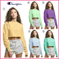 新作!! ☆Champion☆ Reverse Weave Cropped Cut-Off Crew