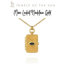 【TEMPLE OF THE SUN】Meri Locket Necklace Gold ネックレス