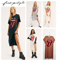 【Free People】Rolling Stones 89 マキシートップ