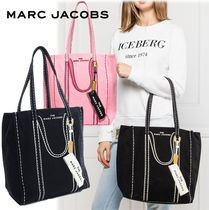 Marc Jacobs キャンバストート だまし絵 THE TAG TOTE ラージ