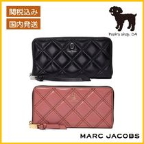 【MARC JACOBS】THE QUILTED SOFTSHOT 長財布◆国内発送◆