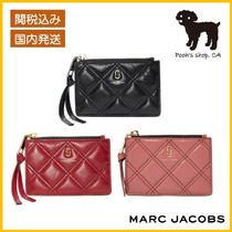 【MARC JACOBS】THE QUILTED SOFTSHOT MULTI WALLET◆国内発送◆
