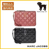 【MARC JACOBS】THE QUILTED SOFTSHOT WRISTLET◆国内発送◆