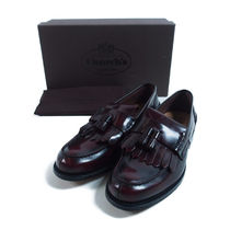 Church's::GRAPE LEATHER OREHAM LOAFERS:7.5[RESALE]