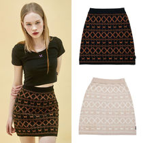 ★NASTYFANCY★日本未入荷 スカート FANCY BUTTERFLY KINT SKIRT