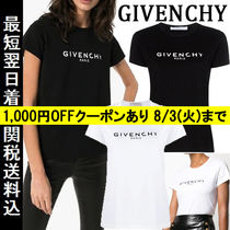 GIVENCHY(ジバンシィ) Tシャツ・カットソー 関税・送料込 GIVENCHY ロゴ コットン ヴィンテージ T-シャツ