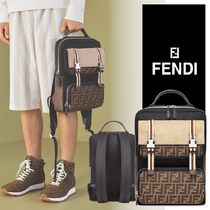 関税送料込【FENDI】TECHNICAL FABRIC BACKPACK リュック