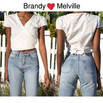 《Brandy Melville》RAE TOP ★ フリルトップス