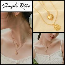 セール★Simple Retro★Angel Love Double Necklace