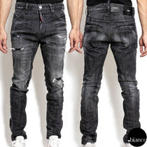 関税込DSQUARED2 2020FW Black Wash Cool Guy Jeans ダメージ