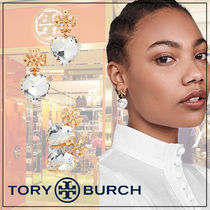 【Tory Burch】Carved Kira ロゴ ハート ピアス