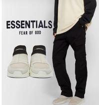 essentials fog fear of god スリッポン スニーカー