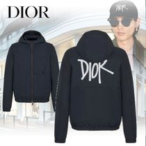 【DIOR】DIOR AND SHAWN テクニカルコットンキャンバスブルゾン
