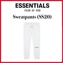 ☆【FOG】FEAR OF GOD ESSENTIALS Sweatpants (SS20)/WHITE