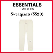 ☆【FOG】FEAR OF GOD ESSENTIALS Sweatpants (SS20)/CREAM