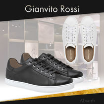 【20SS NEW】Gianvito Rossi_men / レザーロースニーカー / 2色