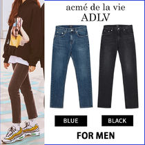 アクメドラビ ADLV★TWICE着用★BACK LOGO DENIM FOR MEN JEANS