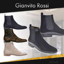 【20SS NEW】Gianvito Rossi_men / ALAIN サイドゴアブーツ /4色