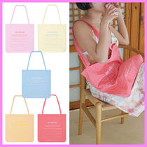 she said that(シーセッドザット) エコバッグ 【she said that】note bag~トートバッグ/エコバッグ_42.8x46cm