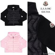 大人もOK!モンクレール HOODED NYLON&WOOL JACKET 12A/14A