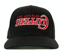 BLACK【在庫あり】UNIFORM STUDIOS 6 PANEL LA CLIPPERS HAT