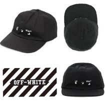 【OFF-WHITE】VIPで関送込★ロゴ キャップ