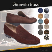【20SS NEW】Gianvito Rossi_men/MARCELLO レザーモカシン/12色
