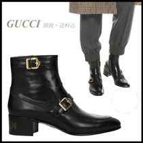 *GUCCI*Sucker Spiked Ankle Boots 関税/送料込