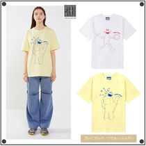 STEREO VINYLSのSesame Street Embroidered T-Shirts 全2色