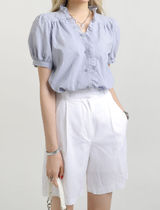 [our_uniform] Harmony Frill Blouse (3color)
