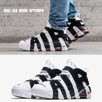 NIKE★AIR MORE UPTEMPO★ロゴ★WHITE/BLACK/VARSITY RED