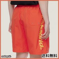 [MAHAGRID] Hotel Logo Shorts Orange