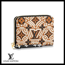 LOUIS VUITTON☆LV CRAFTY ZIPPY COIN PURSE 個性的なデザイン