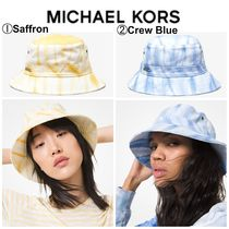 【Michael Kors】●タイダイ●ハット●Tie Dye Denim Bucket Hat