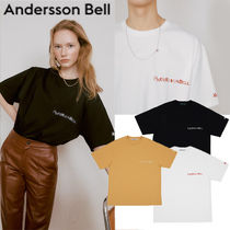 ★ANDERSSON BELL★韓国 UNISEX HEART LOGO EMBROIDERY T-SHIRTS