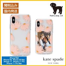 【Kate Spade】jeweled falling flower iphone case◆国内発送◆